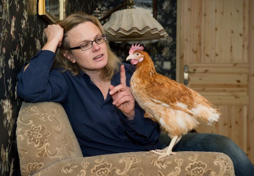 Schriftstellerin Karen Duve