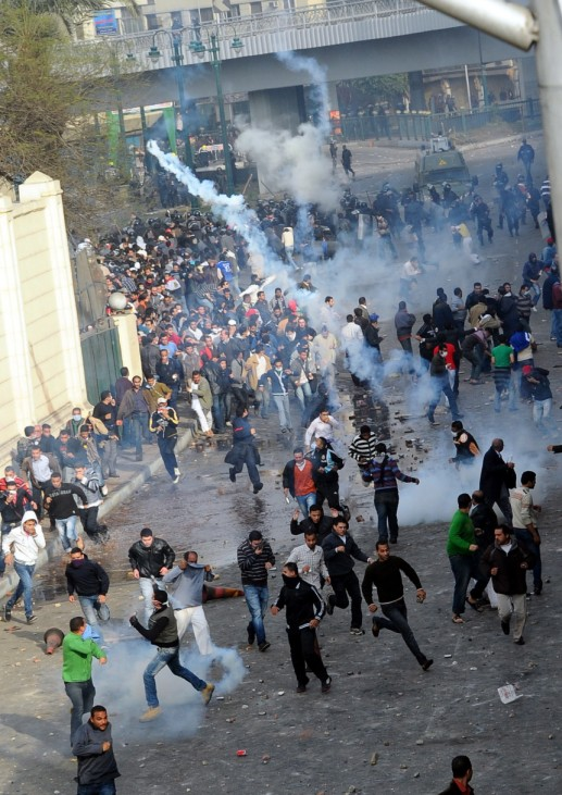 Demonstrations that erupted following Friday prayers in Cairo