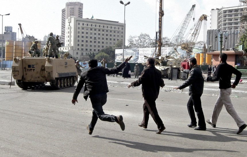 Cairo protests continue
