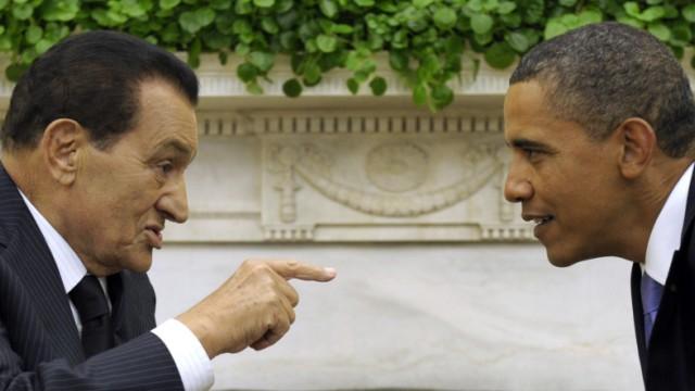 Barack Obama, Hosni Mubarak