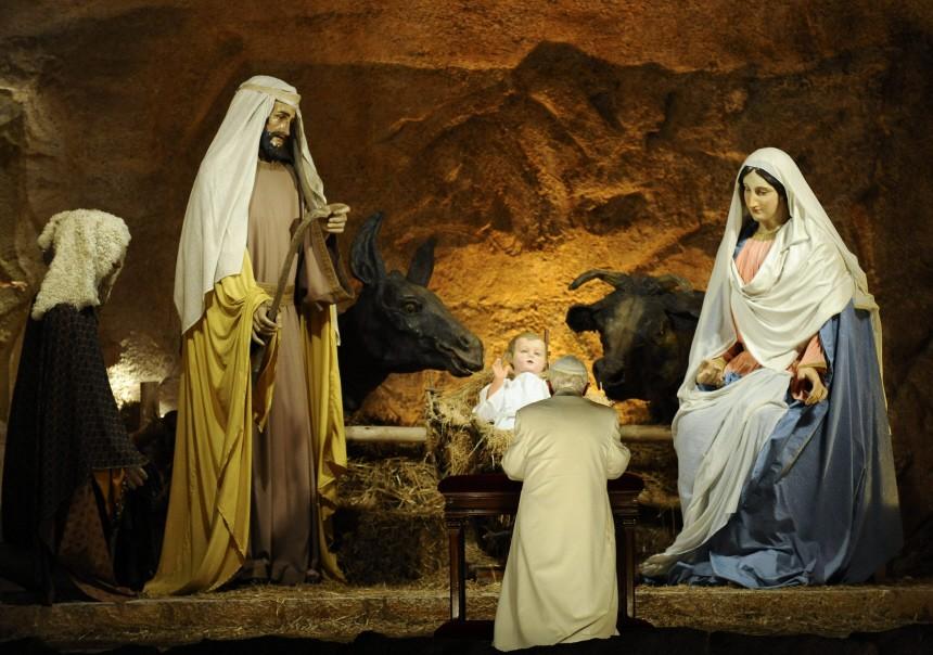 Papst bei Vesper zum Jahresabschluss