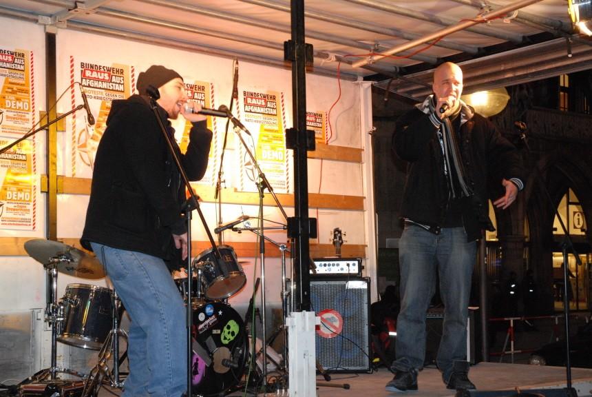 Siko, Sicherheitskonferenz, Freitagabend, Polizei, Marienplatz, Musikveranstaltung