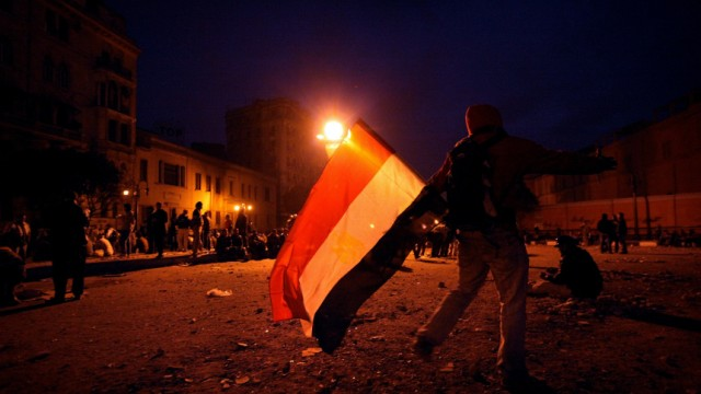 Anti-Mubarak Protesters Gather In Tahrir Square For 'Day Of Departure' Demonstration
