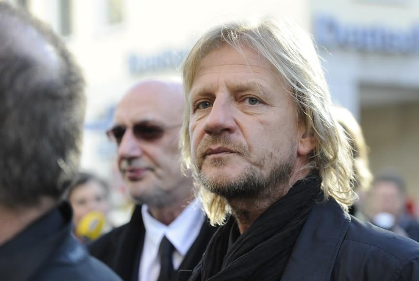 Trauerfeier für Filmproduzent Eichinger