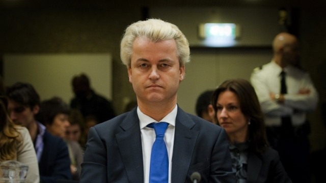 PVV leader Wilders at court