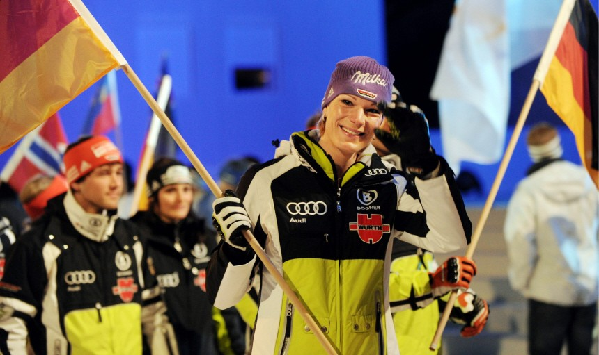 Eroeffnungsfeier der alpinen Ski-Weltmeisterschaft 2011