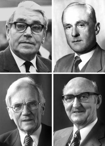 Karl Klasen (links unten)