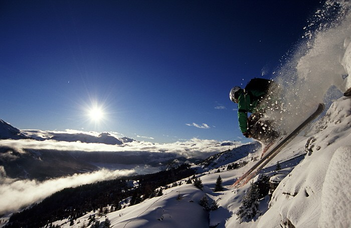 Lenzerheide bietet allen Skihungrigen 155 km Pisten.