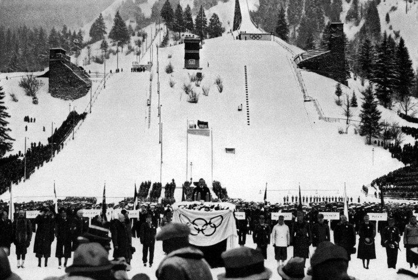 OLY-WINTER-1936-OPENING CEREMONY
