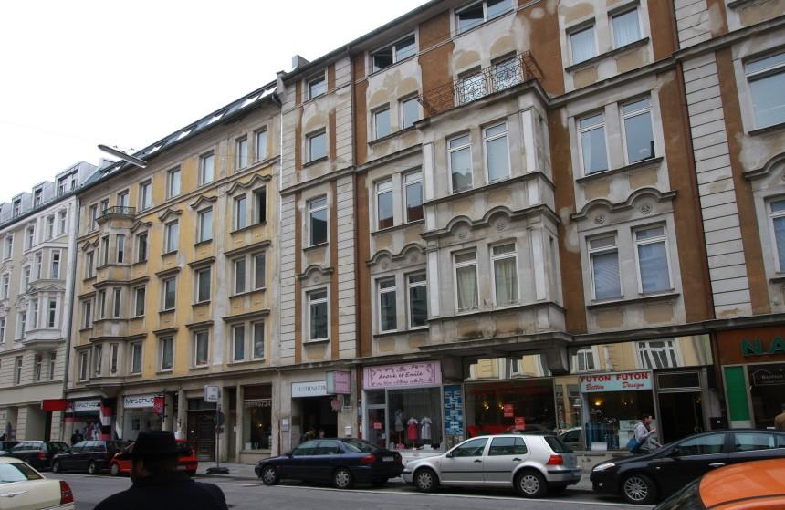 Türkenstraße in München, 2010