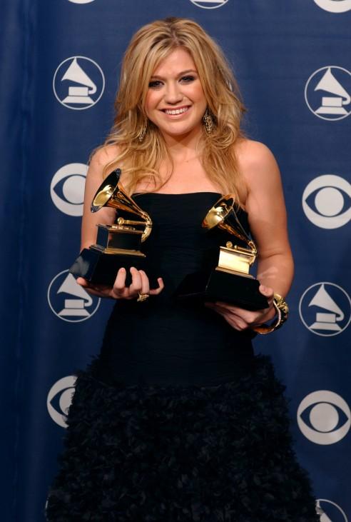 Kelly Clarkson gewinnt 2 Grammys