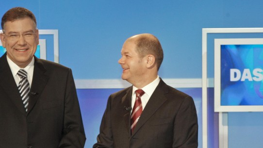 Rededuell zur Hamburg Wahl