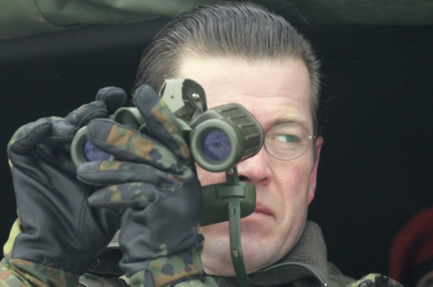 Verteidigungsminister Karl-Theodor zu Guttenberg