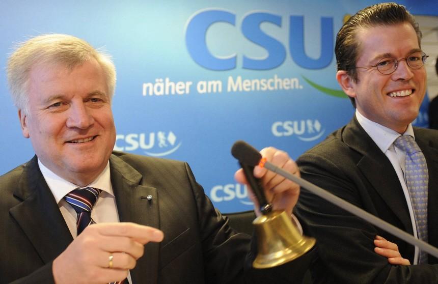 CSU-Kreise: Guttenberg wird neuer Bundeswirtschaftsminister