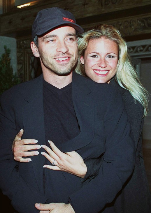 Eros Ramazzotti und Michelle Hunziger, 1998