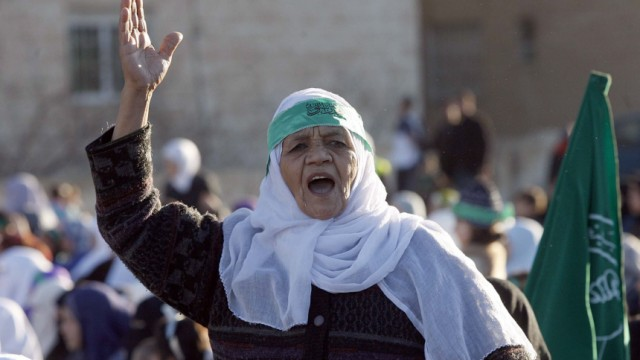 Pro-reform rally in Amman, Jordan
