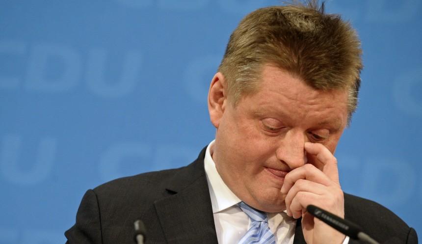 Wahlabend der CDU in Berlin