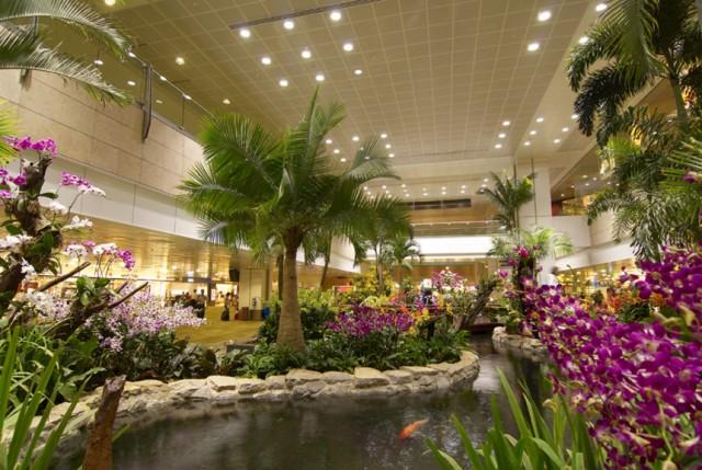 Übernachten Terminal Flughafen Rangliste Changi International Airport Singapur