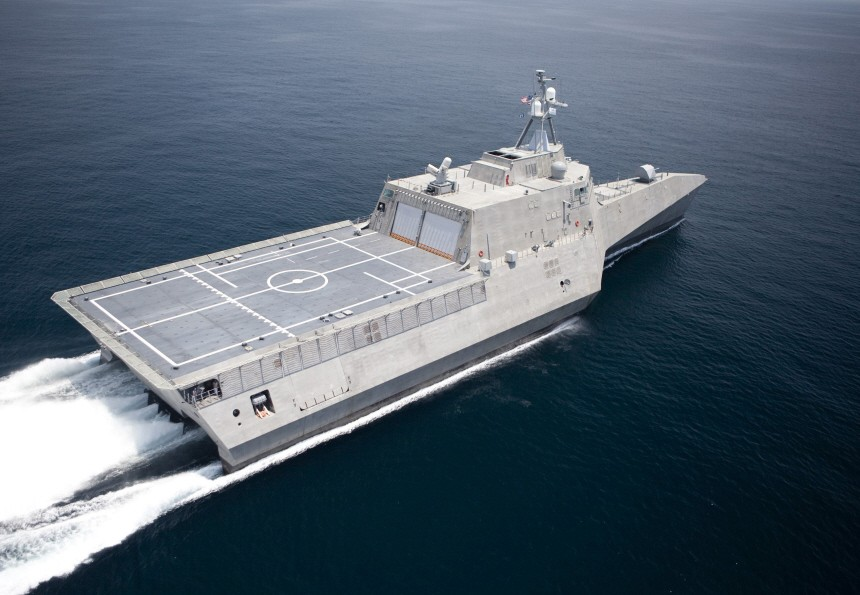File handout image of USS Independence