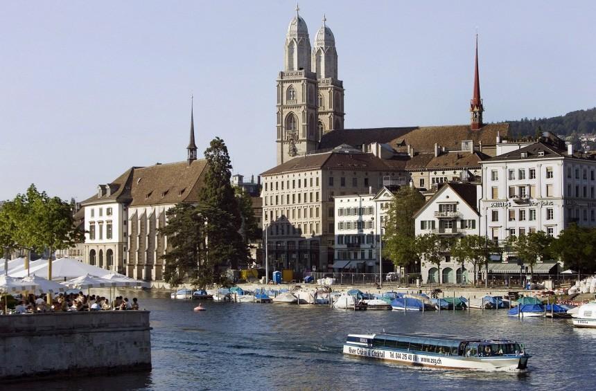 Studie: Zürich mit höchster Lebensqualität