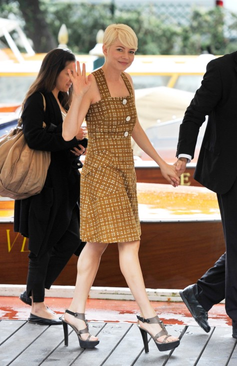 Celebrity Sightings - Day Six:67th Venice Film Festival