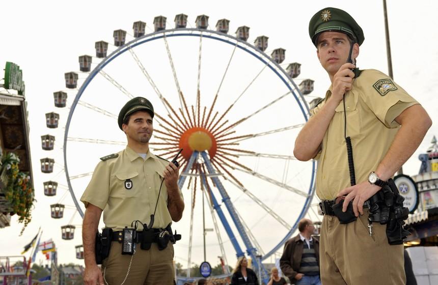 Sicherheitsmassnahmen auf dem Oktoberfest