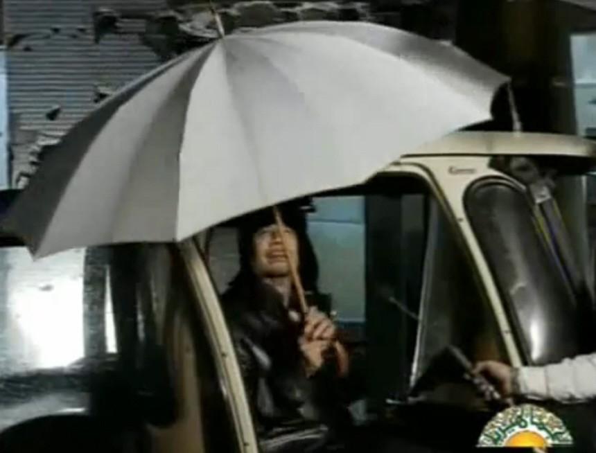 Gaddafi in Libyen