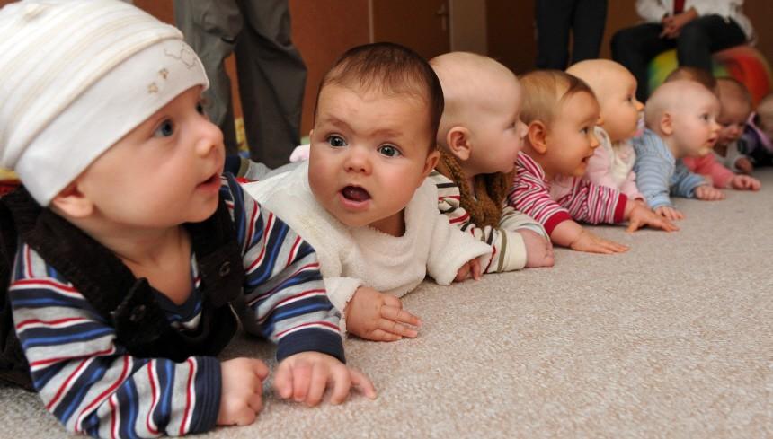 Deutsche hätten am liebsten drei oder mehr Kinder