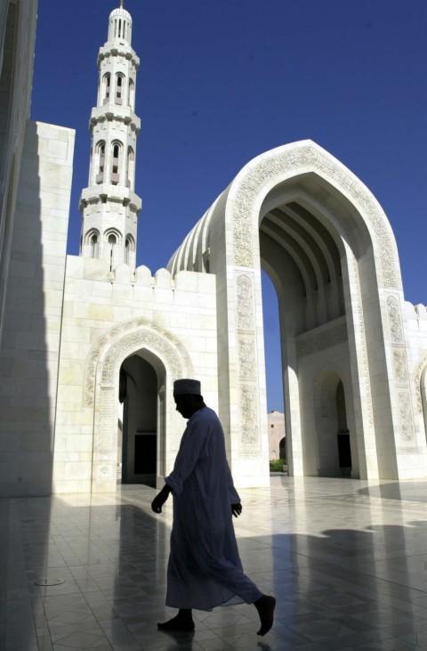 Sultan Qaboos Moschee in Muscat, Oman