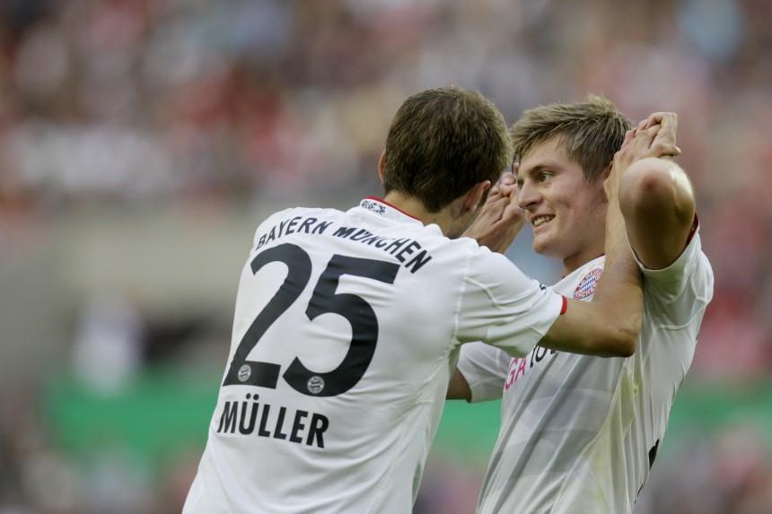 DFB-Pokal - Germania Windeck - Bayern München