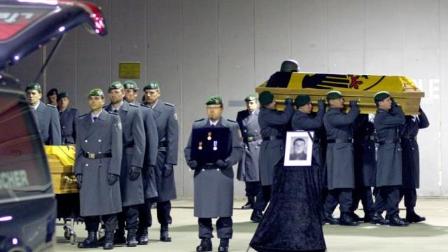 Tote Soldaten zurück in Bayern