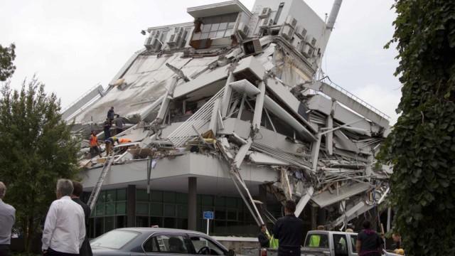 Erdbeben In Christchurch Der Dunkelste Tag Neuseelands Panorama Sz De