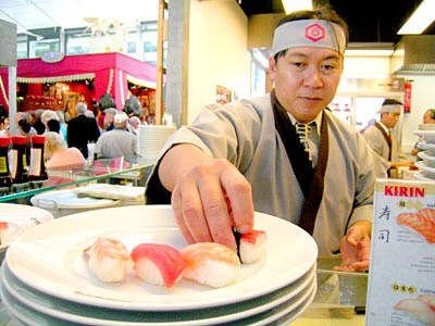 Sushi-Stand