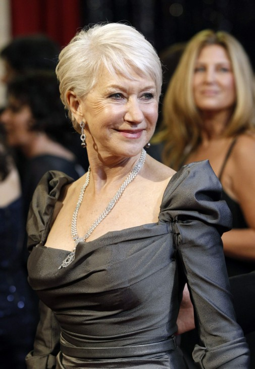 Actress Helen Mirren arrives to present at the 83rd Academy Awards in Hollywood