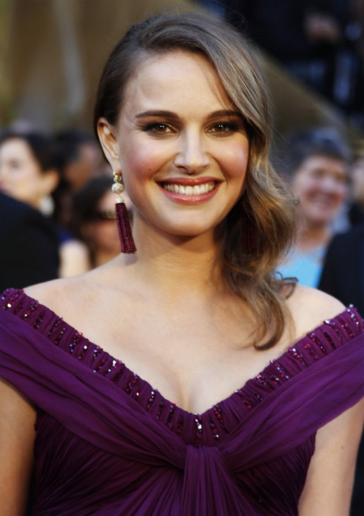 Natalie Portman, best actress nominee for her role in Black Swan, arrives at the 83rd Academy Awards in Hollywood