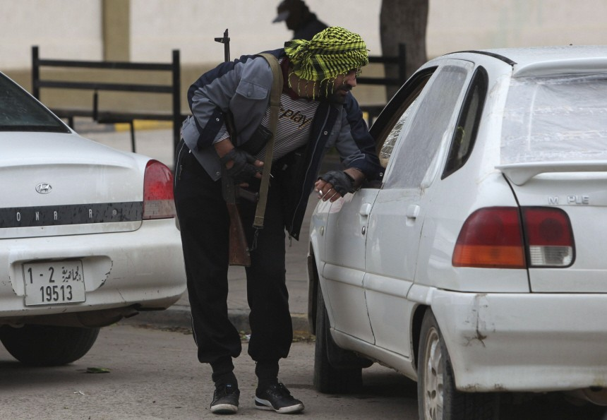 East Libya checkpoints