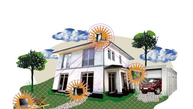 Cebit: Vernetztes Wohnen: Noch ist das vernetzte Haus ein teurer Traum - bald soll sich dies jedoch ändern.