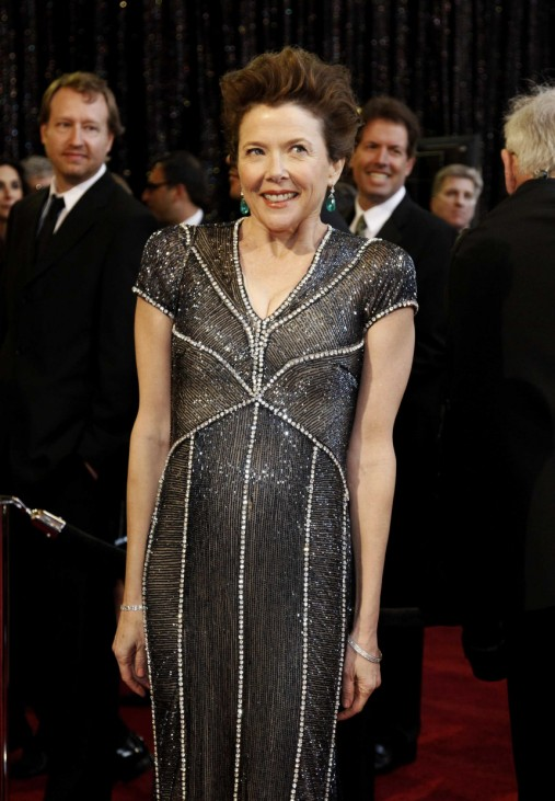 Best actress nominee Annette Bening arrives at the 83rd Academy Awards in Hollywood