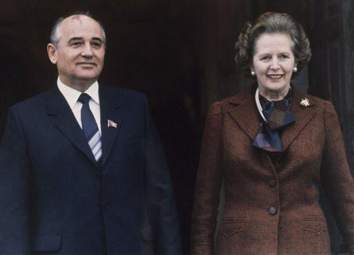 Mikhail Gorbachev, Margaret Thatcher
