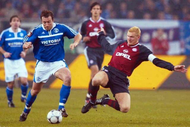 FUSSBALL: DFB POKAL 01/02, FC SCHALKE 04