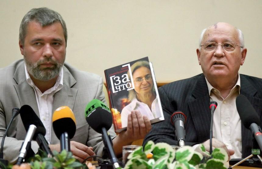 Gorbatschow präsentiert Buch über ermordete Journalistin Politkowskaja