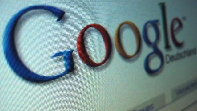 Internetsuchmaschine Google waechst weiter