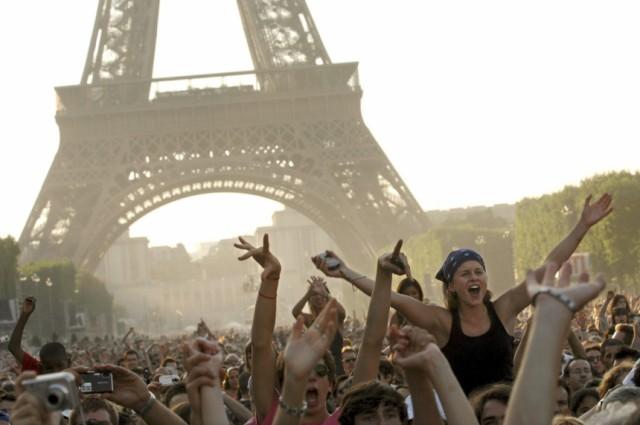 Nationalfeiertag in Frankreich - Konzert auf dem Marsfeld