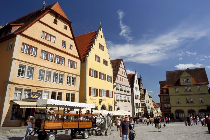 Streit um Kutschenverbot in Rothenburg