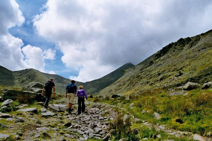 Bergwandern in Irland