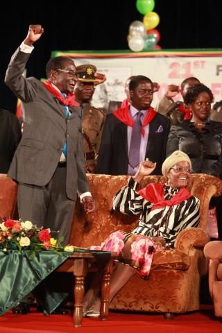 Seit mehr als 30 Jahren beherrscht Robert Mugabe Simbabwe