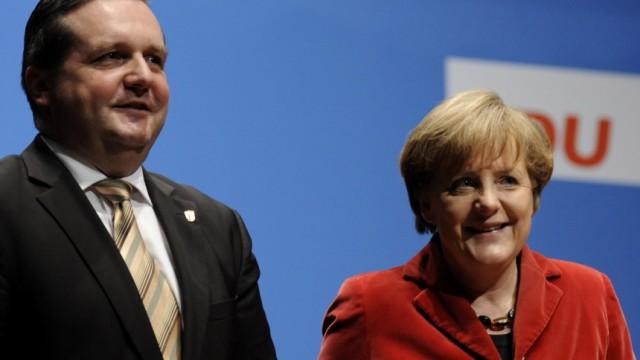 Wahlkampf der CDU in Baden-Wuerttemberg