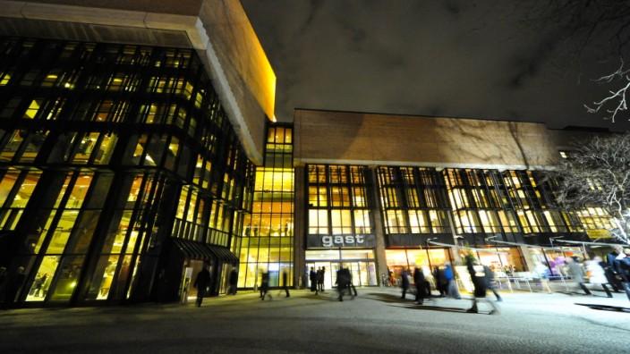 Gasteig in München bei Nacht, 20111
