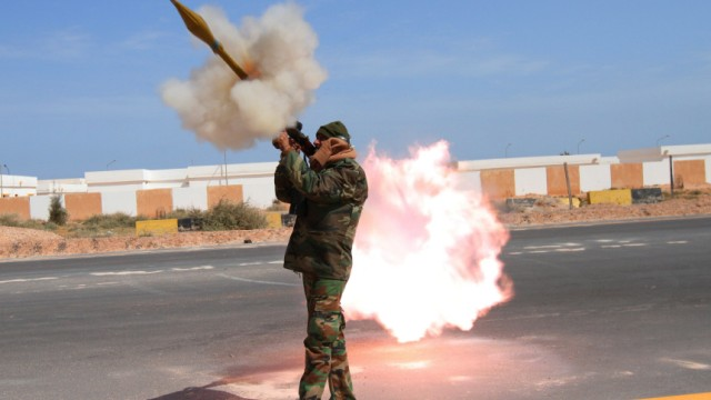 Libya Rebel forces fight pro-government forces