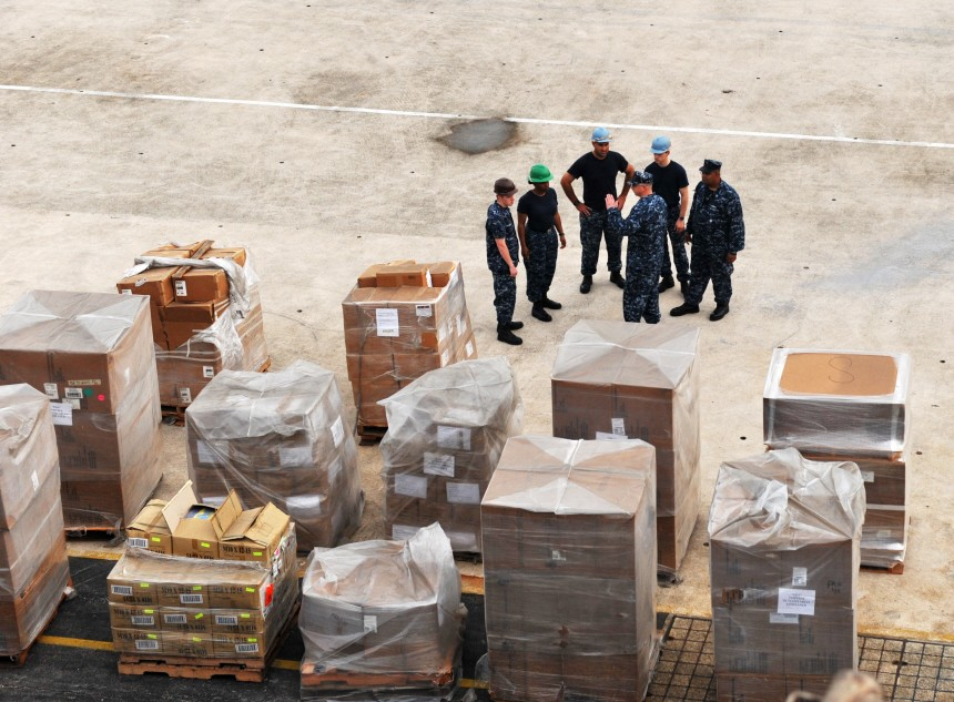 US-Marine startet Hilfseinsatz im japanischen Erdbebengebiet